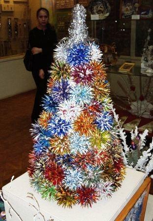 Новогодний букет вместо елки своими руками фото 744